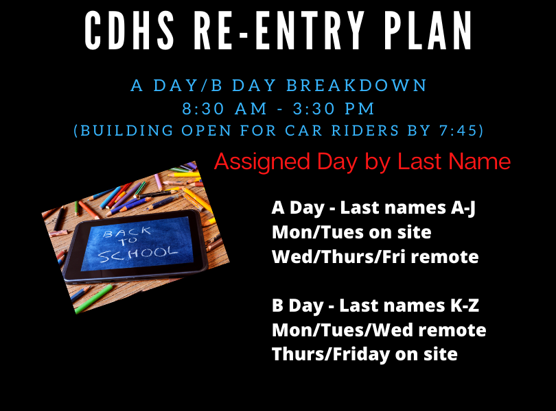 CDHS Re-entry A Day B Day