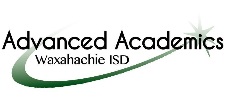 Waxahachie ISD Advanced Academics logo