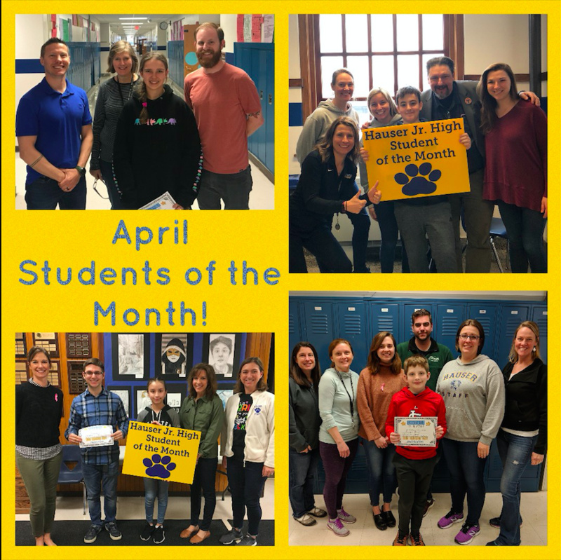 April Students of the Month! Featured Photo