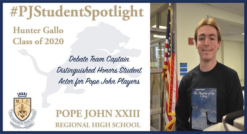 Hunter Gallo Student Spotlight