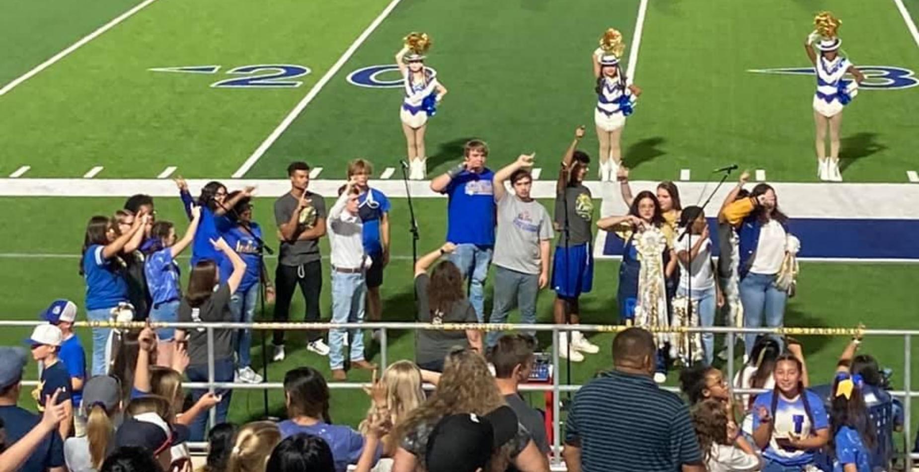 choir on field