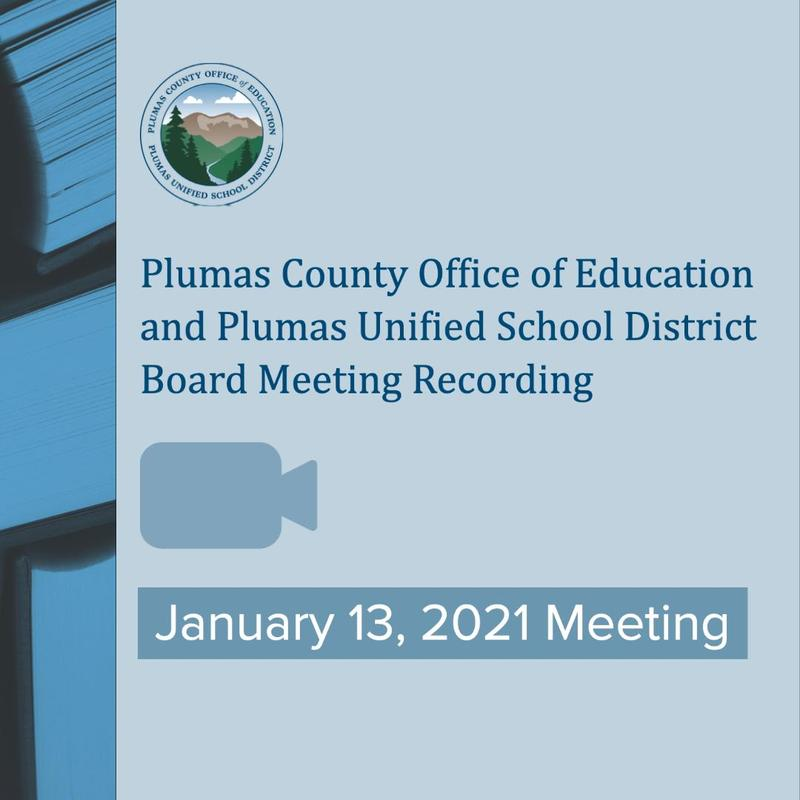 Video recording of Jan 13 Board Meeting graphic