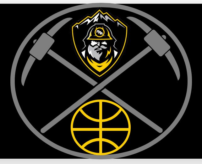 Miner Basketball Logo 2021