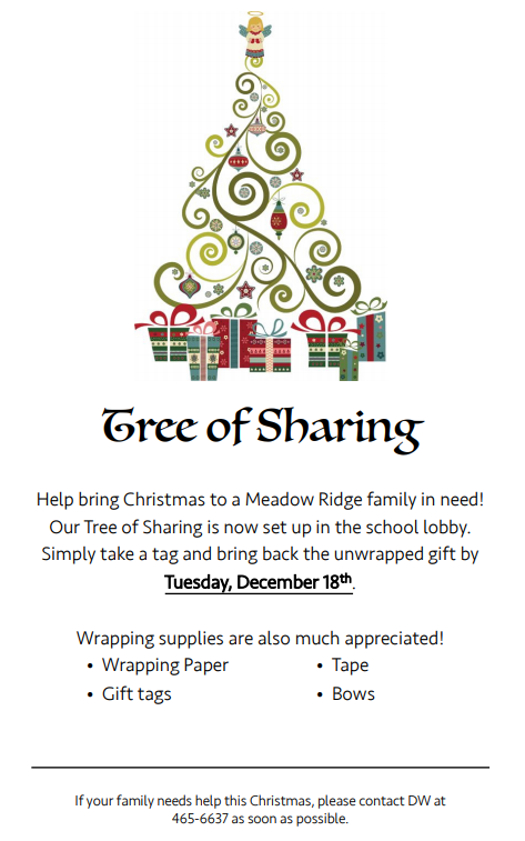 Tree of Sharing Flyer