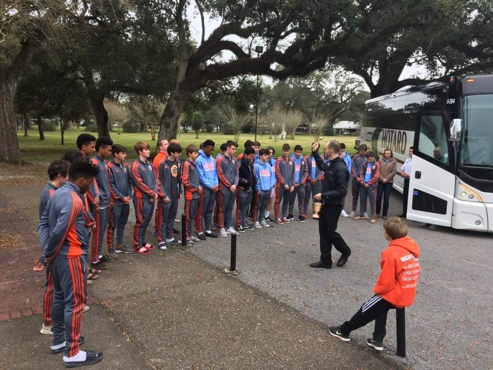Boys Soccer Departure to New Orleans to play Holy Cross in the Semifinals