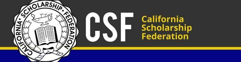 California Scholarship Federation (CSF) Applications Due Friday Thumbnail Image