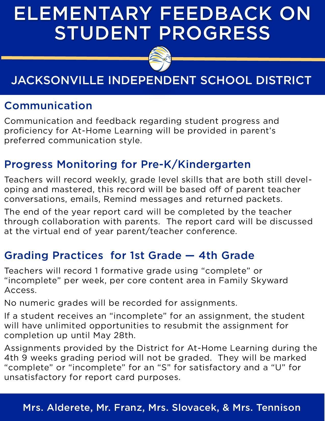 elementary grading