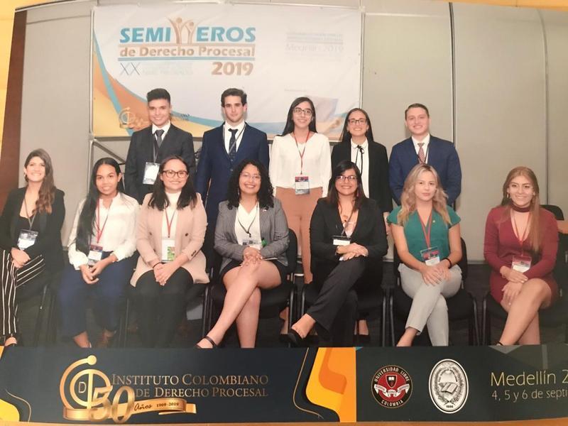 CONGRESO INTERNACIONAL DE CONCURSO DE SEMILLERO DEL DERECHO PROCESAL PARA ESTUDIANTES DE PREGRADO Featured Photo