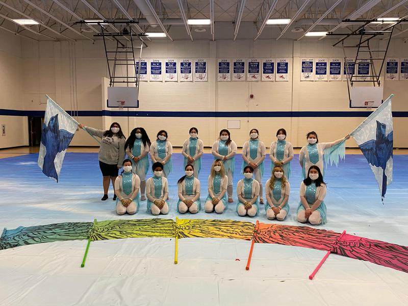 KHS Winter Guard brings home second place in championships Featured Photo