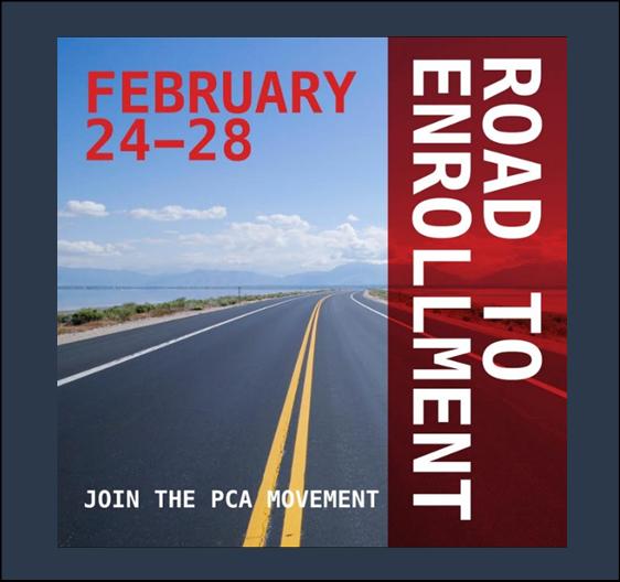 Road to Enrollment February 24-28