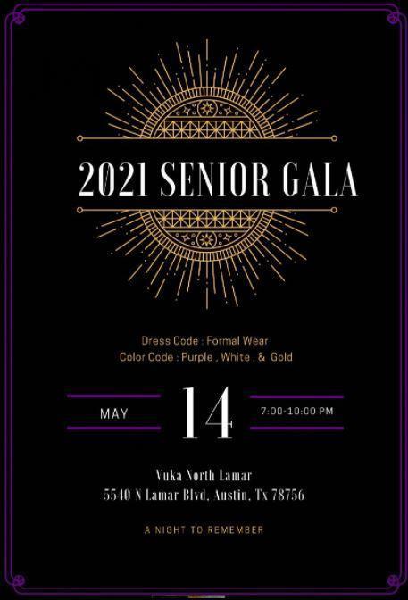 2021 Senior Royal Gala! Featured Photo