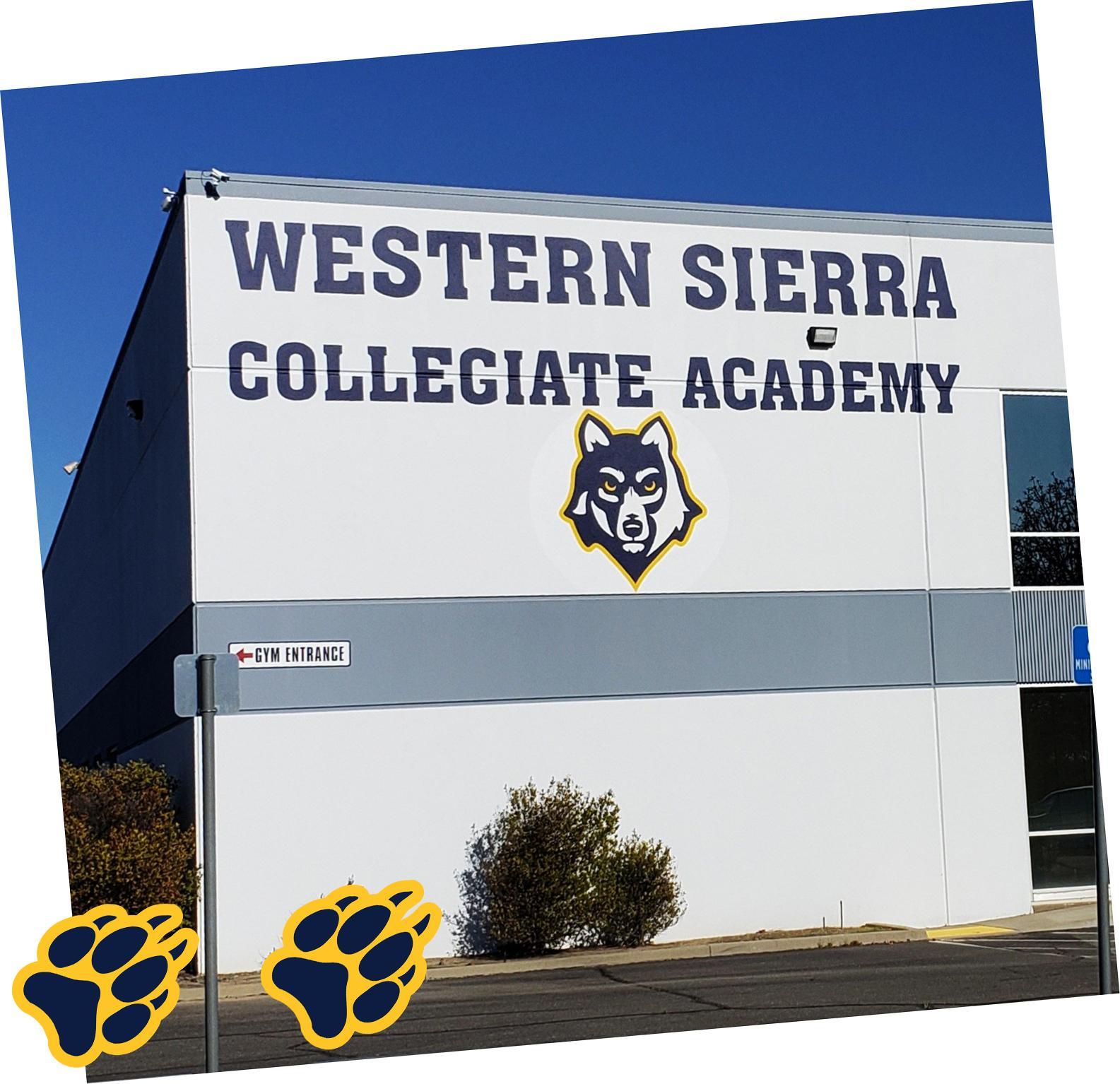 Western Sierra Collegiate Academy back entrance doors