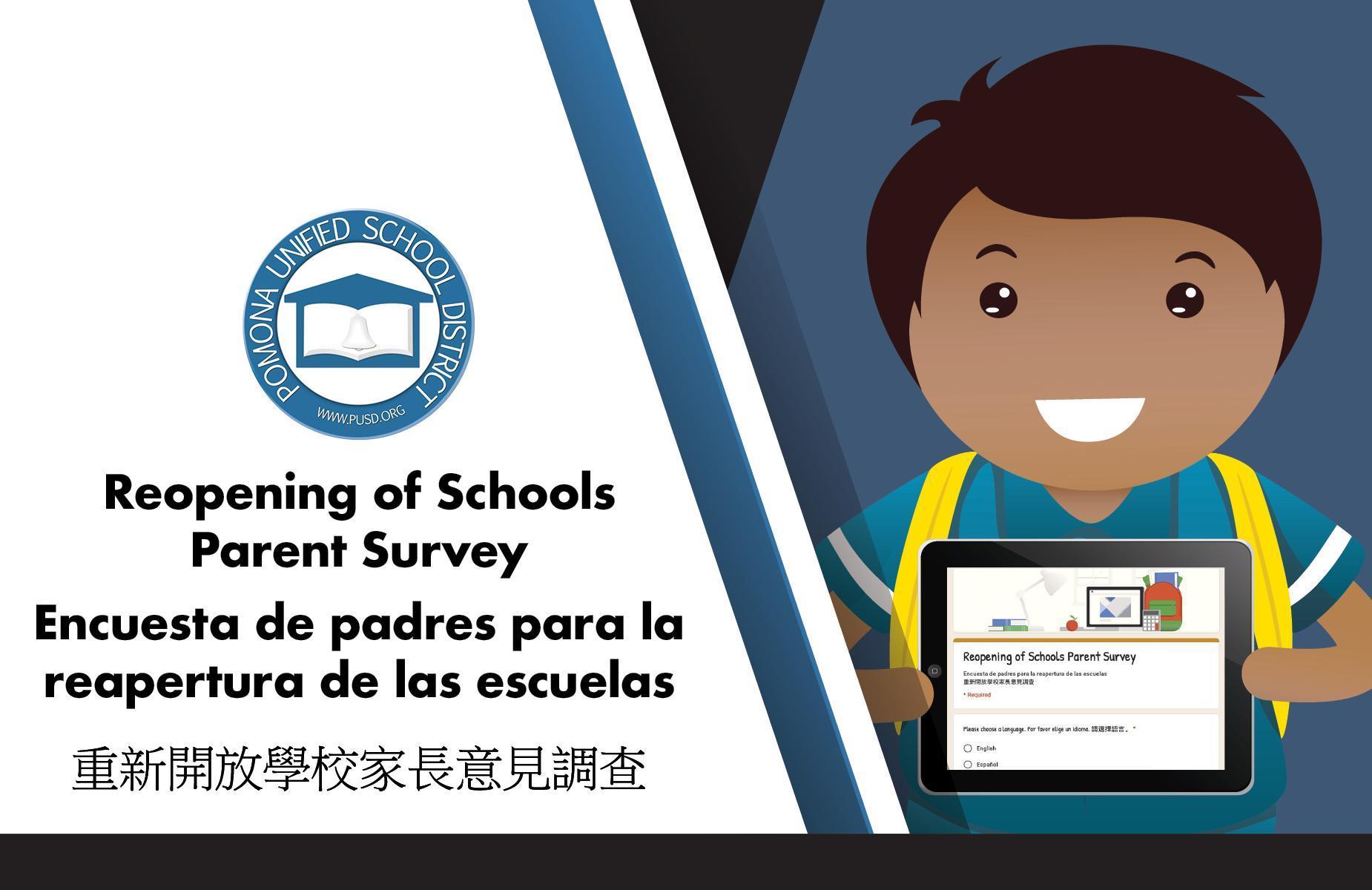 Re opening of School Survey