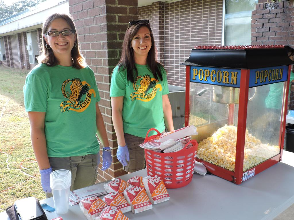 BOY Block Party popcorn booth
