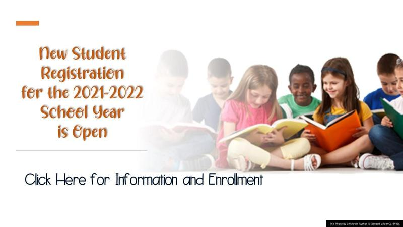 New Students Open Enrollment for the 2021-2022 School Year Thumbnail Image