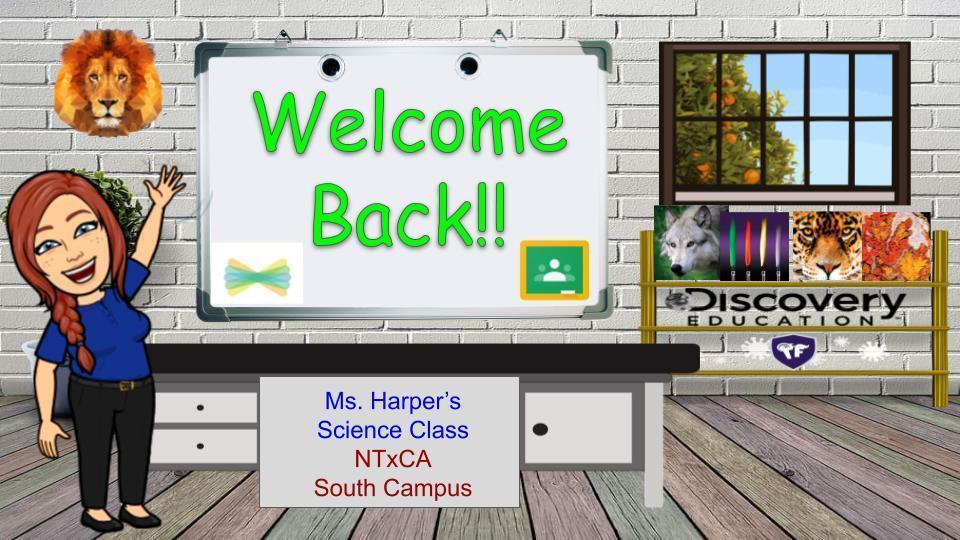 Welcome Back Classroom