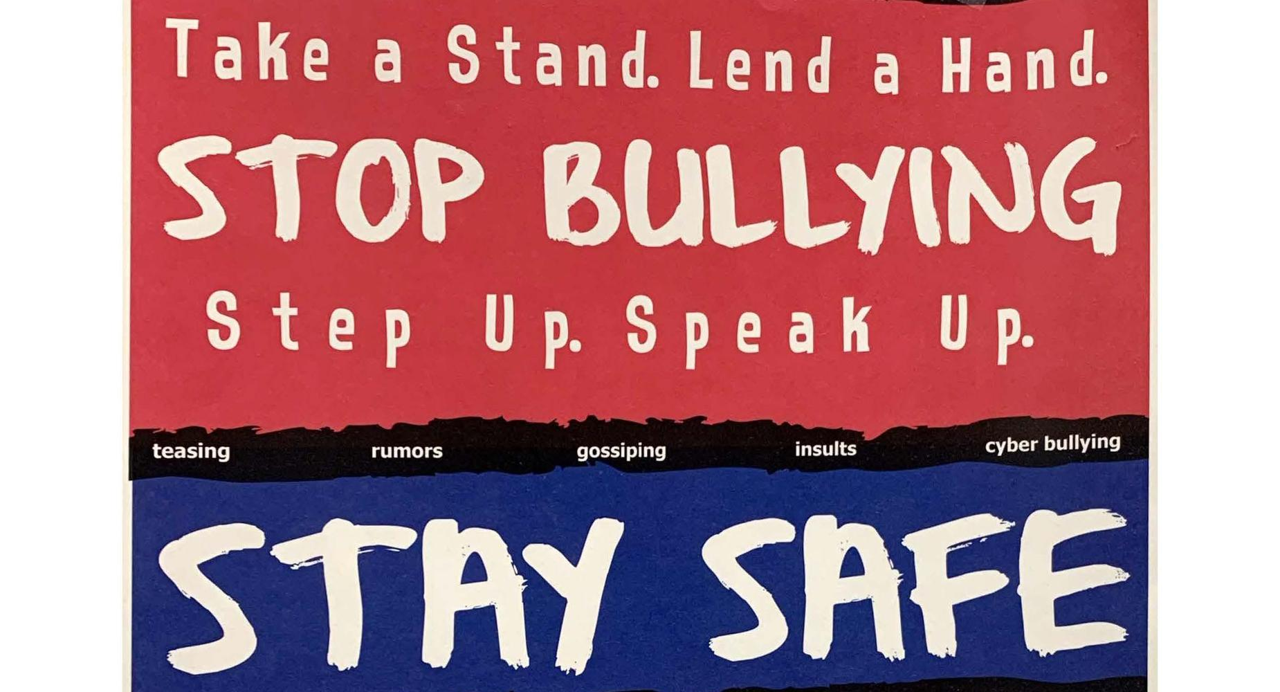 stop bullying - text or call - 562-888-0472