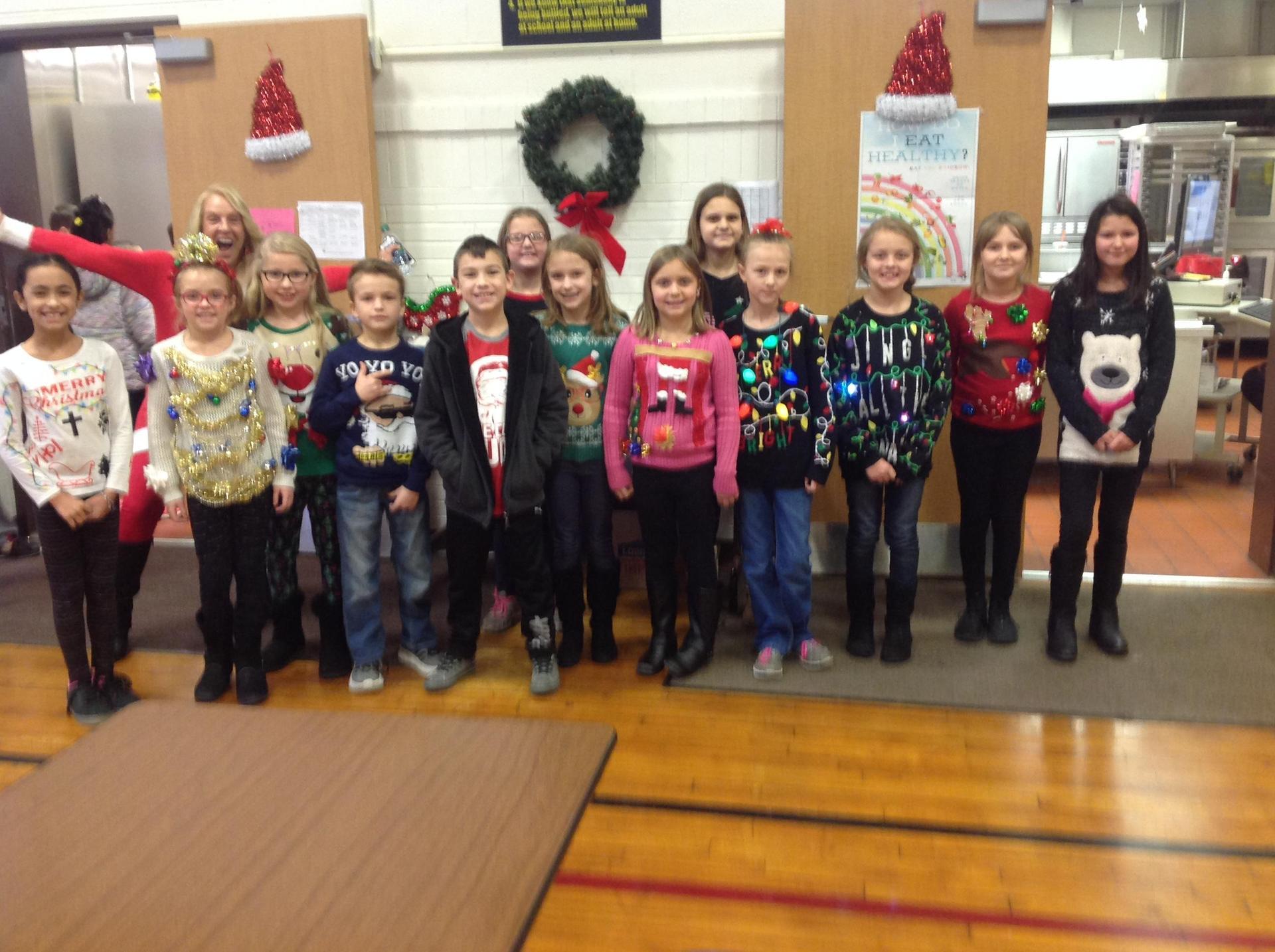 4th Grade Sweaters