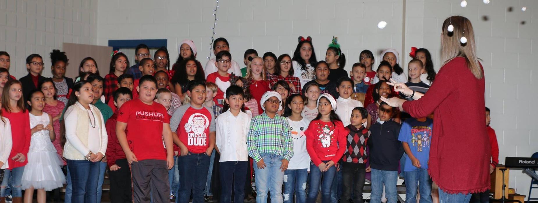 NPE Christmas Bazaar and Program