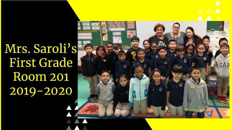 Ms. Saroli's First Grade Goodbye Presentation