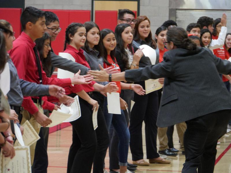 Gold & Red Honor Roll Assembly Thumbnail Image