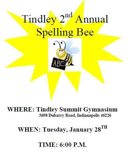 Tindley Elementary Spelling Bee Featured Photo