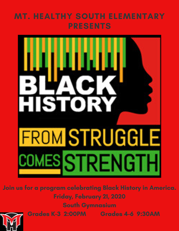 black history program flyer