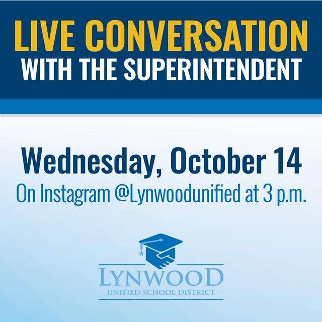 Superintendent Crosthwaite To Answer Your LIVE Questions Oct. 14! Featured Photo
