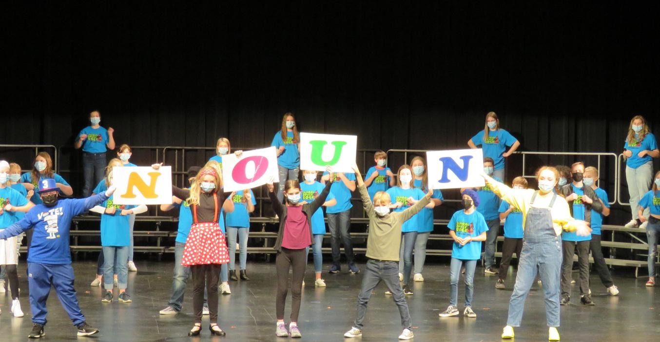 TKMS students perform their fall musical.