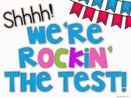 rockin' the test