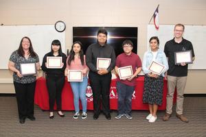 MISD Fine Arts students recognized.