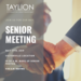May Senior Meeting Flyer