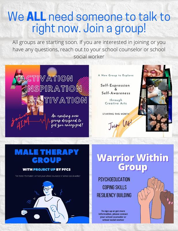 Groups Starting Soon