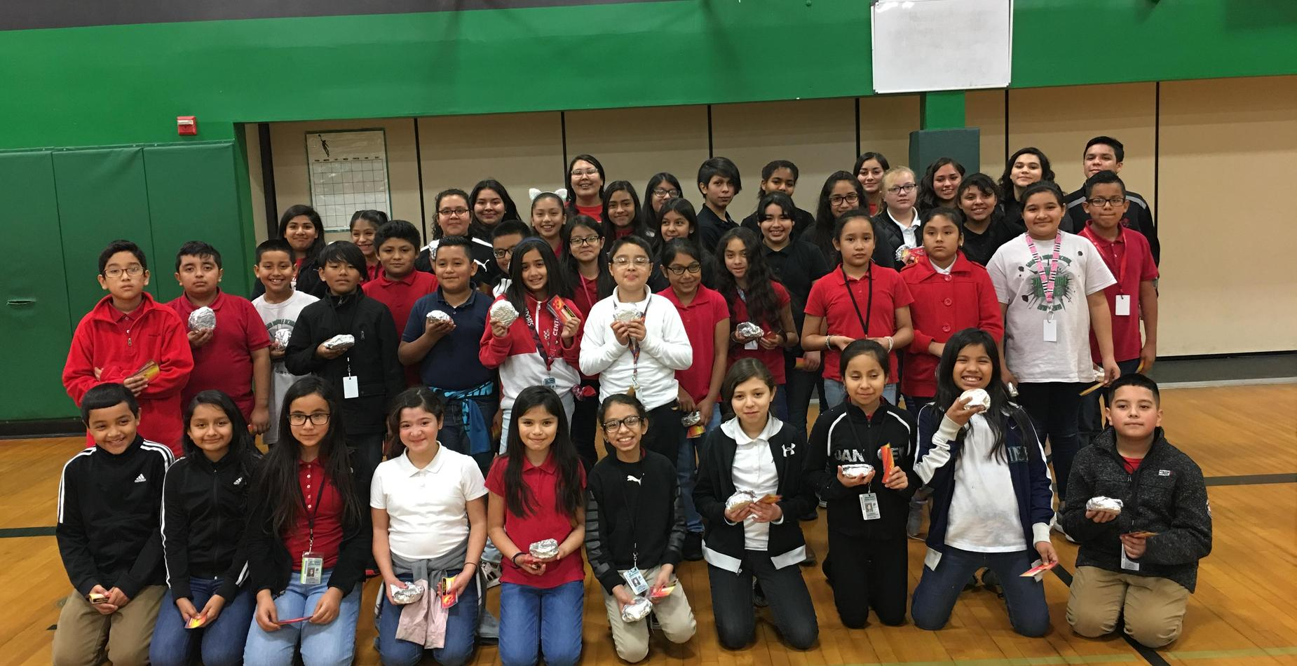 5th Grade Students who had perfect attendance for the 1st Quarter