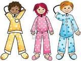 Wear your pajamas!