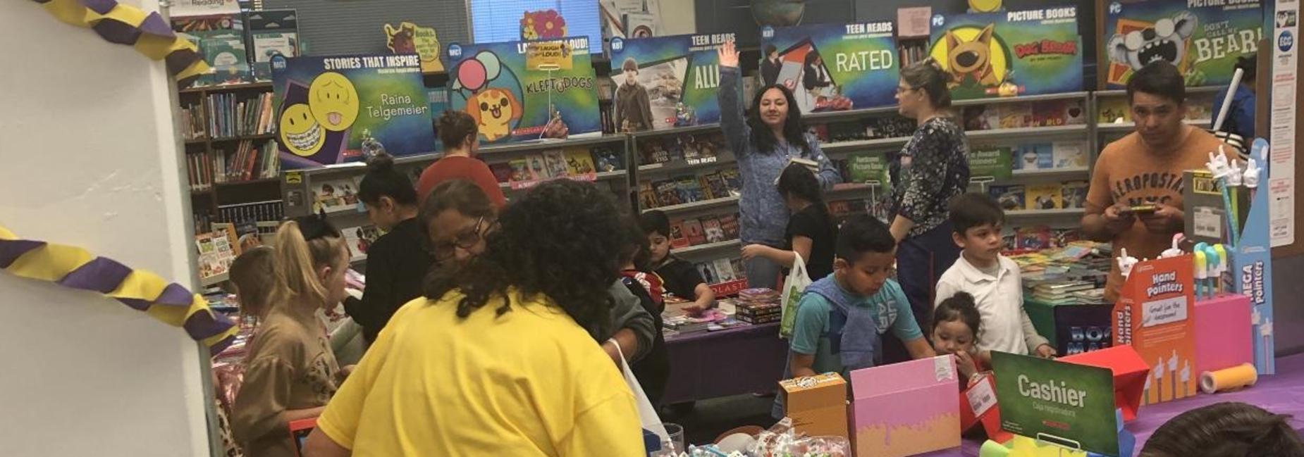 Book Fair - Family Literacy Night