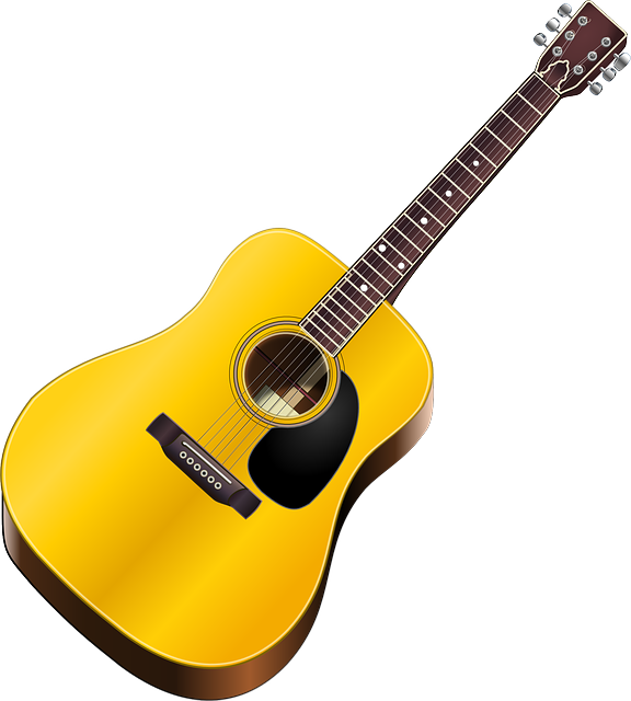 guitar club clipart