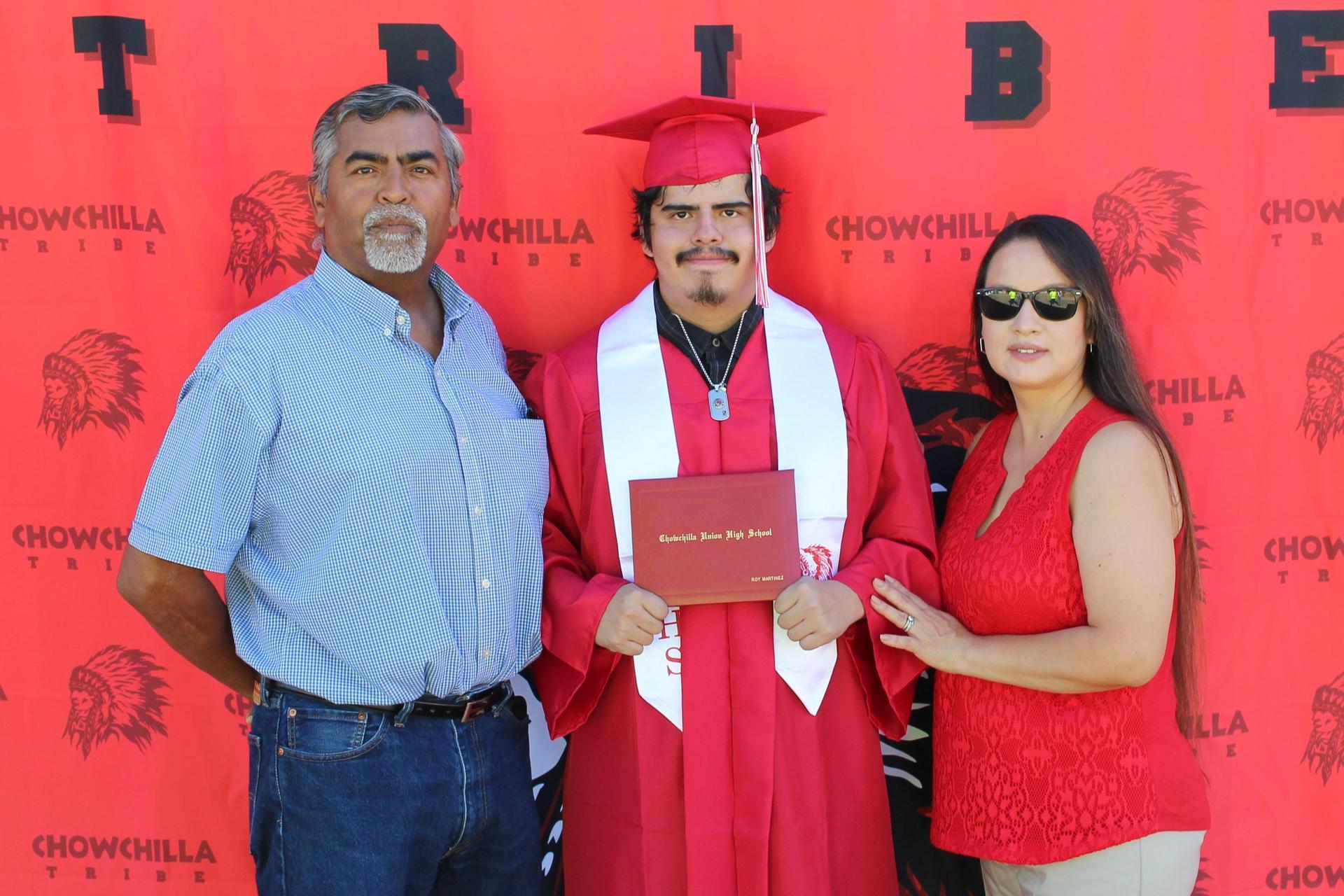 Roy Martinez and family