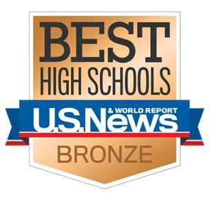 U.S.News & World Reports - Best High Schools Bronze Logo