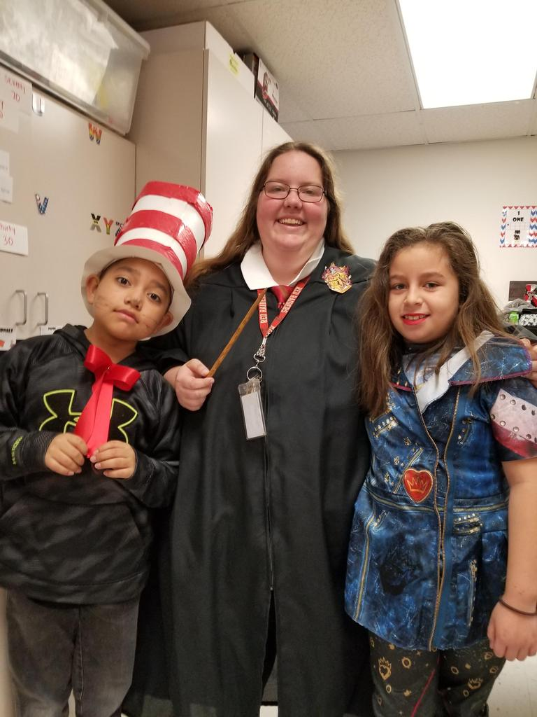 Literacy Day (dress as your favorite storybook character)