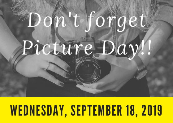 Fall Picture Day is Wednesday, September 18 Featured Photo
