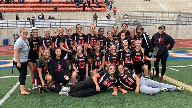 Palos Verdes girls lacrosse defeated Redondo (3rd time this season) for the LA Championships!! Thumbnail Image
