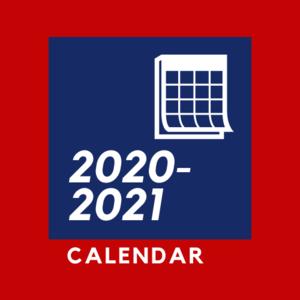 2020-2021 calendar logo
