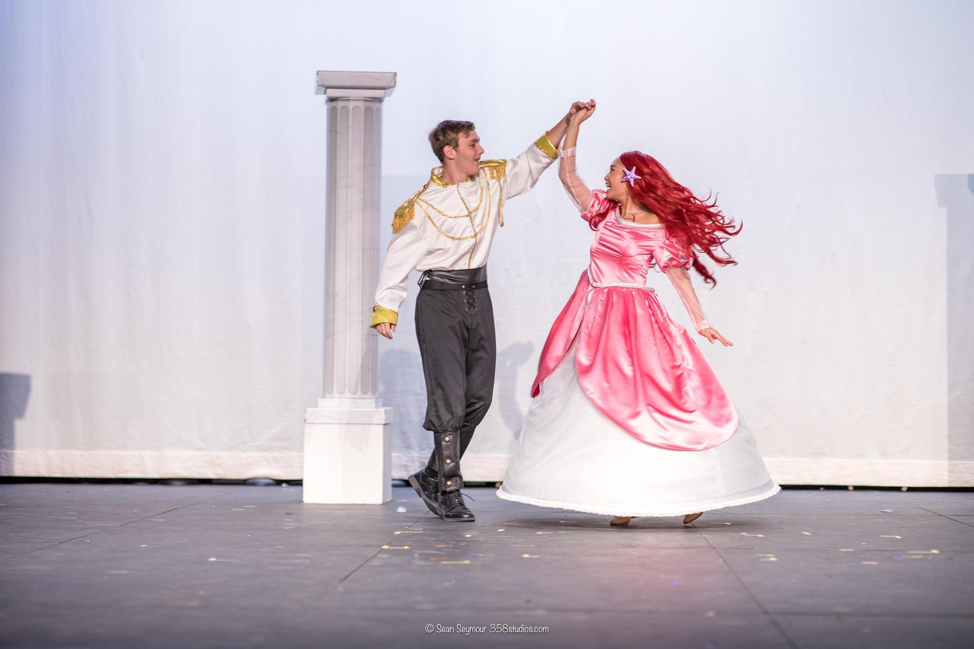 theater, little mermaid