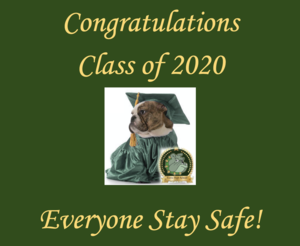 Congrats!  Stay Safe