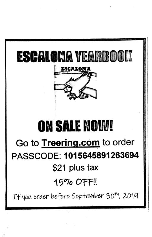 Escalona Yearbook on Sale Now! Featured Photo