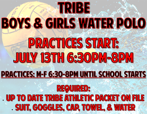 Water polo practice begins