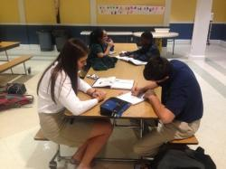 Students offering tutoring