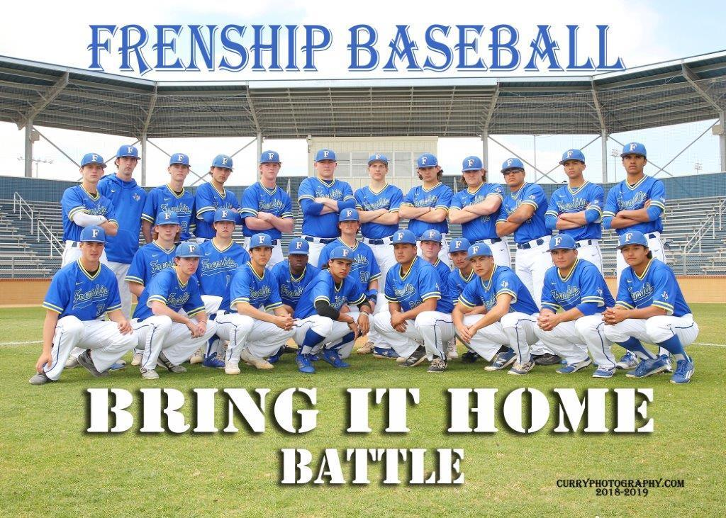Frenship Baseball Team 2019