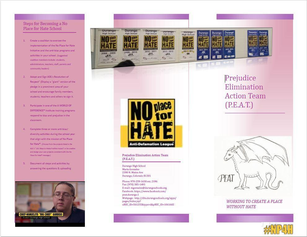 PEAT brochure